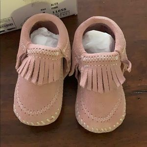 Infant Minnetonka moccasins
